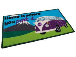 Quest Home Is Where You Park It Campervan Washable Mat