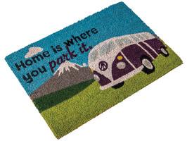 Quest Home Is Where You Park It Camper Van Coir Mat