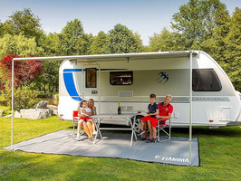Fiamma Caravanstore Roll Out Awnings- Royal Grey