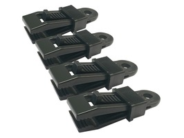 Streetwize Carpet Clamp Set - Pack of 4