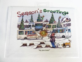 CD110 Seasons Greetings Christmas Card by Armand Foster (Single)