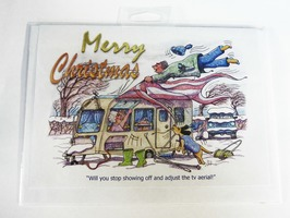 CD173 Merry Christmas Card by Armand Foster (Single)