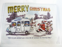 CD238 Motorhome Themed Christmas Card by Armand Foster (Single)