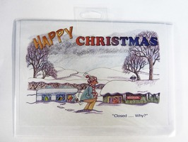 CD328 'Happy Christmas' Card by Armand Foster (Single)