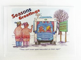 CD412 Motorhome Themed Christmas Card by Armand Foster (Single)