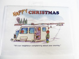 CD436 Happy Christmas Card by Armand Foster (Single)