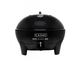 Cadac Citi Chef 40 Table Top Portable Gas BBQ -Black