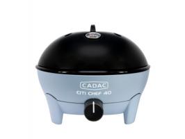 Cadac Citi Chef 40 Table Top Portable  Gas BBQ -Sky Blue