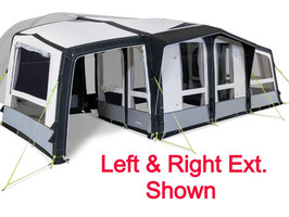Kampa Dometic Club/Ace AIR Pro S  R/H Extension 2021