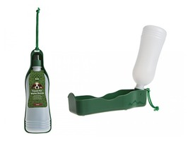 Crufts 750ml Travel Pet Water Bottle and Tray
