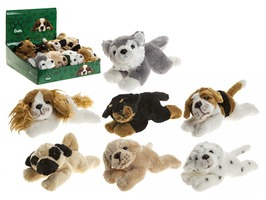 "9"" Crufts Stuffed Dog Toys - Assorted Designs"