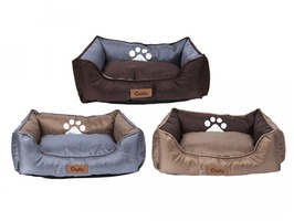 Crufts Small Oxford Nylon Rectangular Bolster Pet Bed