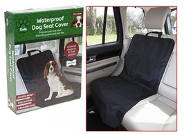Crufts Waterproof Single Dog Seat Cover - Universal Fitting