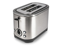 Deco Stainless Steel High Gloss Electric 2-Slice Toaster