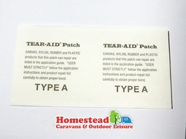 Dorema Tear Aid Patch Repair - Type A