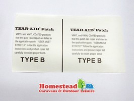 Dorema Tear Aid Repair Patch - Type B
