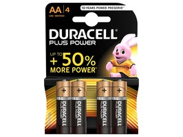 Duracell Plus Power AA Alkaline Batteries MN1500 set 4