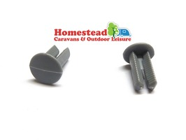 Fiamma Rivet Snip Snap Awning Leg End - 2 Pieces