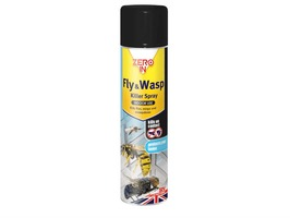 Zero In Fly & Wasp Killer Spray 300ml