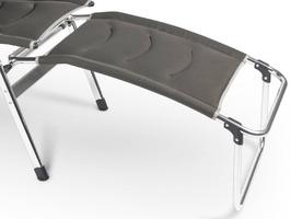 Kampa - Dometic Aluminium Footrest Milano - Ore Brown