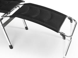 Kampa - Dometic Aluminium Footrest Milano - Pro Black