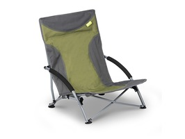 Kampa Sandy High back Low Chair - Green