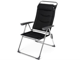 Kampa-Dometic Lusso Milano High Back Reclining Chair - Pro Black