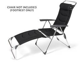 Kampa Aluminium Footrest Milano - Pro Black