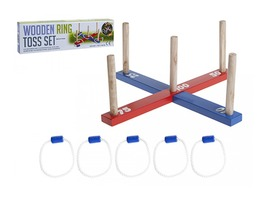 Garden Wooden Ring Toss Outdoor Game Set