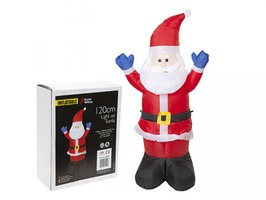 Inflatable Santa Claus with Lights 120cm