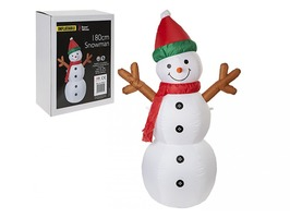 180cm Inflatable Snowman
