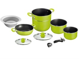 Brunner Juniper 8+1 Aluminium Cooking Pan Set