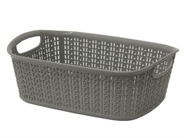 JVL 3ltr Loop Storage Basket Grey