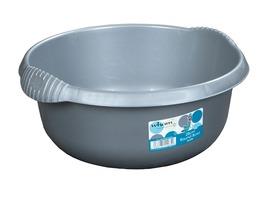 28cm Caravan Round Sink Bowl Silver