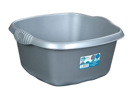 32cm Square Sink Bowl for Caravans & Motorhomes - Silver