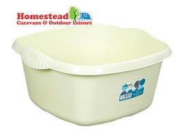 32cm Square Washing Up Bowl Calico
