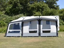 Kampa Dometic Club AIR Pro 390 Plus LEFT Caravan Awning 2019