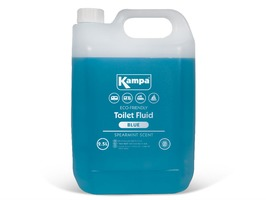Kampa Blue Toilet Fluid 2.5 Litre Bottle with Spearmint Scent
