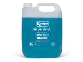 Kampa Blue Toilet Fluid  5 Litre Bottle with Spearmint Scent