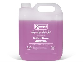 Kampa Pink Toilet Rinse 2.5 Litre Bottle with Pomegranate Scent