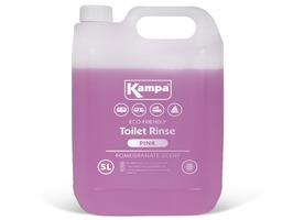 Kampa Pink Toilet Fluid 5 Litre Bottle with Pomegranate Scent