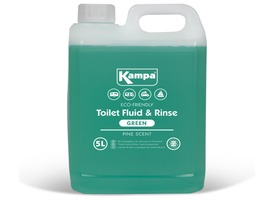 Kampa  Green Toilet Fluid & Rinse  5 Litre Bottle with Pine Scent