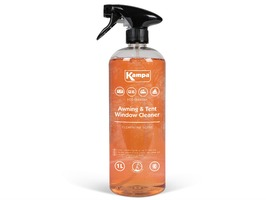 Kampa Awning & Tent Window Cleaner 1 Litre Bottle with Clementine Scent