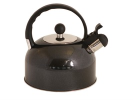 2.2L Stainless Steel Whistling Kettle - Black