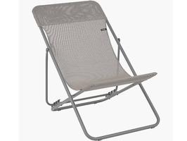 Lafuma Maxi Transat Batyline Iso Deck Chair-Graphite