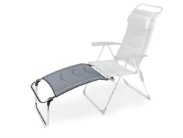 Kampa Aluminium Footrest Milano - Pebble Grey