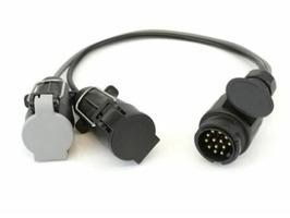 Leisurewize Extension Twin Electrics Lead Converter (CAR 13pin)