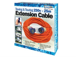 25m 230v Mains Extension Lead