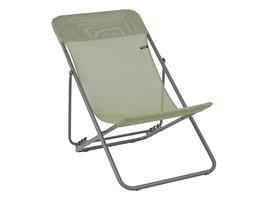 Lafuma Maxi Transat Batyline Iso Deck Chair-Moss