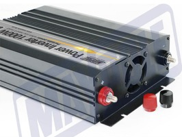Maypole 1000W Power Inverter with USB Socket 12v/230v
